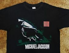 vtg Michael Jackson Bad T Shirt tour 1988 King of Pop music L XL NOS Pepsi 80s !