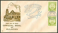 1959 Philippines OFFICIAL SEAL OF BULACAN First Day Cover