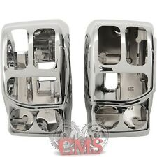 Chrome Hand Control Switch Housing Set for 2014-2016 Harley Touring Handlebar