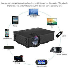 Unic UC46 mini LED LCD Projector HD 1080P with WIFI 2.4G Wireless Screen push