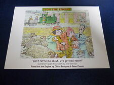 """Ivor the Engine Postcard """"Don't rattle me about ,Ive got new teeth (New) Dentist"""
