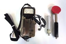 Ludlum 14C Geiger Radiation Detector Counter w/  Pancake Probe & GM Beta Alpha