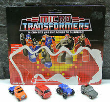 G1 TRANSFORMERS 1988 MICROMASTER AUTOBOT OFF ROAD PATROL WITH UK CARDBACK