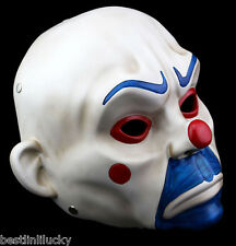 New Resin Joker Bank Robber Mask Clown Batman Dark Knight prop masquerade