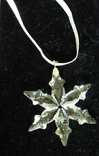 SWAROVSKI Crystal star christmas decoration