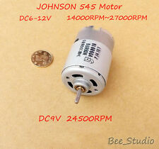 DC 6V~12V High Speed JOHNSON 545 Strong magnetic Motor for Electric tools Boat