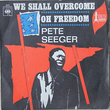 """Vinyle 45T Pete Seeger """"We shall overcome"""" - TRES RARE"""