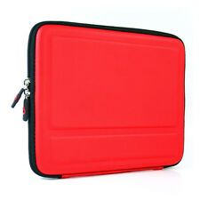 Red Cube Series Shell Semi-Hard Stand Case Sleeve Bag for Apple NEW iPad 2/3/4