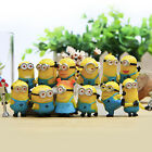 Set of 12Pcs Despicable me 2 Cute Minions Movie Character Figures Doll Toy Toys