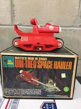 Mattel's Major Matt Mason Uni-Tread space hauler With Box