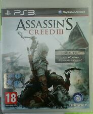 Assassin's creed 3 PS3 ITA