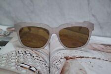 NEW Celine Radical CL 41057/S Ivory Beige Glass Lens Sunglasses Unisex