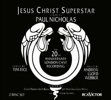 JESUS CHRIST SUPERSTAR 20th Anniversary London Cast 2CD BRAND NEW Paul Nicholas