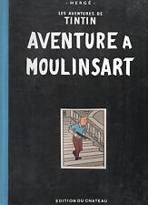 Tintin. AVENTURE à MOULINSART. Ed.du Château, Tirage limité 500 ex.n°en n/bl