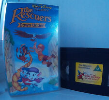 The Rescuers Down Under (1990) Disney's 29th Animated Classic Disney VHS