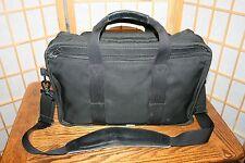 TUMI ALPHA BLACK NYLON COMPUTER BAG MODEL: 2601D3