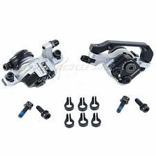 Shimano BR-M375 Mechanical Disc Brake Set F&R 160 mm , Silver