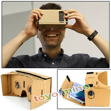 ULTRA CLEAR Google Cardboard Valencia Quality 3D VR Virtual Reality Glasses