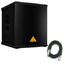 Behringer B1200D-PRO DJ/Club Active Subwoofer Powered Sub 500W amplified w/ XLR