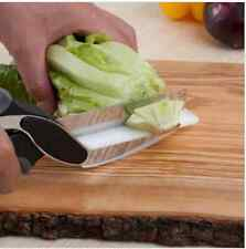 2 in 1 Kitchen Knife and Cutting Board Scissors Clever Cutter Kitchen Food Cutte