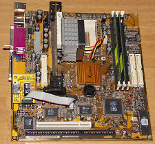 PC Chips Xcel 2000 µATX Mainboard 650 MHz P3 128 MB Motherboard ISA PCI AGP