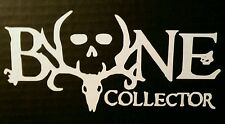 """BONE COLLECTOR"" Vinyl Decal FREE SHIPPING!!!!"