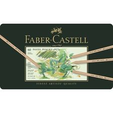 Faber Castell Colour pencil PITT PASTEL tin of 60
