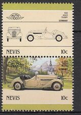 H122) Timbres Neufs MNH (Adler Trumpf 1936) /NEVIS/ VOITURES-CARS-AUTOMOBILES