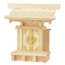 KAMIDANA Shinto Miniature Shrine Chutenri/ Wood Hinoki, Japanese Cypress