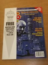 DOCTOR WHO #185 1992 APR 15 BRITISH WEEKLY MONTHLY MAGAZINE DR WHO FREE GIFT