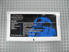 LEGO Star Wars 10225 - R2-D2 - STICKER / AUFKLEBER - R2D2 Stickers Decals UCS