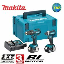 Makita DLX2173TJ 18V Cordless BRUSHLESS Twin Pack with 2x 5.0Ah Li-ion Batteries