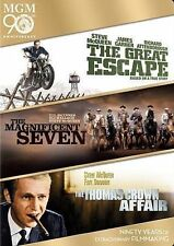 The Great Escape/The Magnificent Seven/The Thomas Crown Affair (DVD, 2014,...