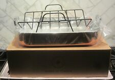 Mauviel 1830 Copper Roasting Pan w/ Rack - NOT TRIPLY!!!  Free Gift