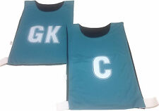 New Hi-5 Netball Training/Practice Breath/Reversible Fabric Bibs(Set Of 8)