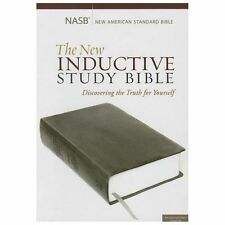 THE NEW INDUCTIVE STUDY BIBLE - PRECEPT MINISTRIES INTERNATIONAL (PAPERBACK) NEW