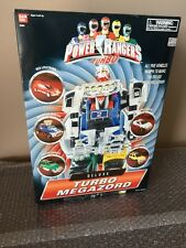 BANDAI Power Rangers Turbo -Deluxe Turbo Megazord Five Vehicle Zords Morph-NEW-