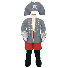 NEW! TRAVIS CAPTAIN PIRATE SUIT + HAT COSTUME FANCY DRESS PARTY BOYS 9 10 11 YRS