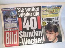 Bildzeitung vom 03.12.1999 * 17. 18. 19. 20. Geburtstag Geschenk * BVB * Skibbe