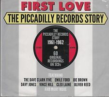 VA First Love - Piccadilly Records Story 1961-62, 3CD Neu