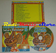 CD FIESTA LATINA Salsa e merengue 2 ANDY MONTANEZ DANNY ROJO lp mc dvd vhs (C15)