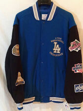 Los Angeles Dodgers 5 time WORLD SERIES Champions jacket-MLB TRU BLUE gear-Large