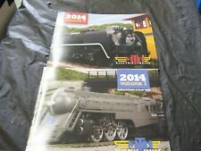 MTH Electric Model Trains BRAND NEW 2014 Volume One & Two Full Color Catalogs