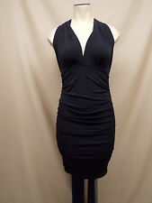 Victoria's Secret~Matte Jersey~Convertible~Multi-Way~Bodycon~Dress~Small~Black