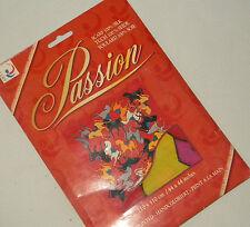 § foulard Arty's Passion écharpe soie peint à la main 110x110 Caleche