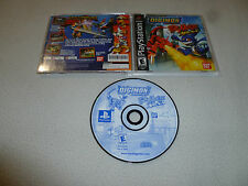 PLAYSTATION PS1 GAME DIGIMON DIGITAL MONSTERS RUMBLE ARENA COMPLETE BAN DAI PS2