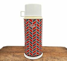 Vintage Retro Large Thermos Drinks Flask Boots Mid Century Camper Van Picnic