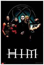 HIM POSTER BANDPICTURE HEARTAGRAM