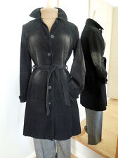 DEVIDED, Cotton Cord Coat, 10-12 UK, 38 EU, Quirky Sand-Washed Effect Patches