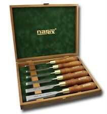 Narex 6pc Premium Polished Bevel Edge Chisel Set 6mm 10mm 12mm 16mm 20mm 26mm